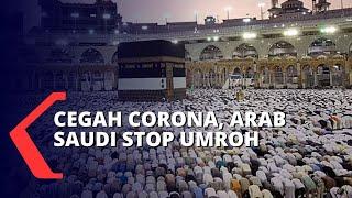 Jakarta, kompas.tv - pemerintah arab saudi menghentikan sementara pintu masuk untuk orang yang hendak umroh dan berkunjung ke masjid nabawi di madinah sebaga...