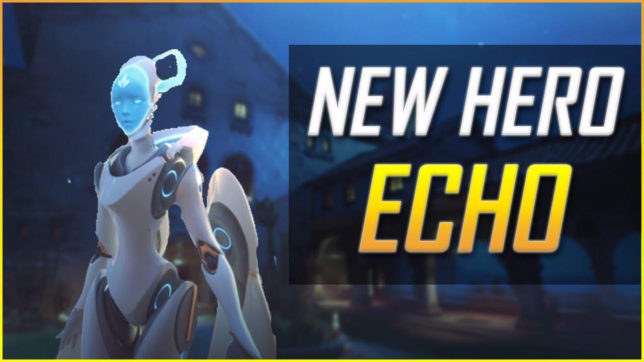Download Overwatch: NEW Hero Echo - Abilities, ULTIMATE, and Gameplay!