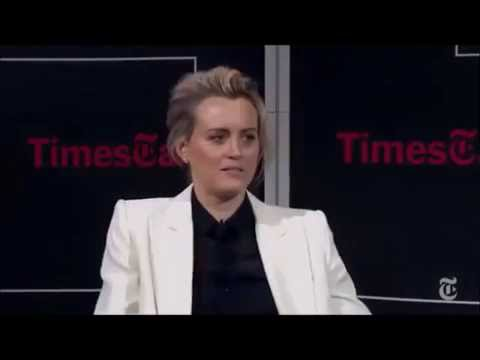 Taylor Schilling doing her Alex Vause Impression (OITNB Cast)