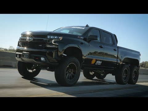 Introducing Shell Rotella Gas Truck: The Official Motor Oil Of Hennessey Trucks & SUVs