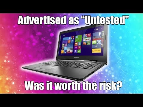 "Taking a Risk With ""Untested"" Hardware"