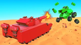 Build The BEST ARMORED TANK Challenge! (Trailmakers)