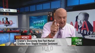 Jim Cramer breaks down the purpose of stock splits: They're good for young, new investors