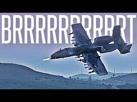 A-10 Rocket Strikes