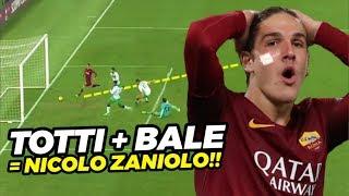SPEED GILA‼️Lihat Gaya Pemain AS Roma Nicolo Zaniolo, Punya Kecepatan & Skill di Atas Rata Rata