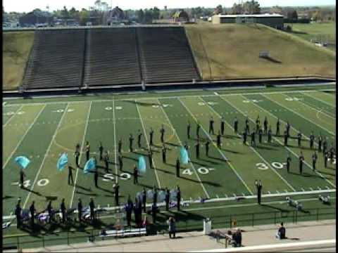 Pride of Chickasha marching band contest 1st place
