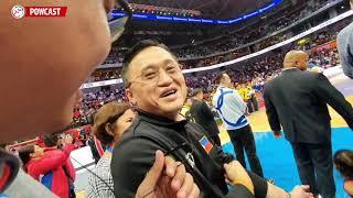Hala! Anung Nagyari Sa Sapatos ni Senator Bong Go | SEA Games Basketball Awarding Ceremony