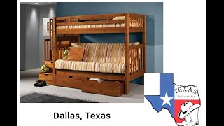📌Children's Best Bunk bed for Dallas Texas - REVIEW