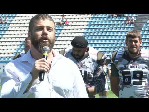Kiev Patriots vs EAFL Falcons - Dynamo Stadium - Kyiv