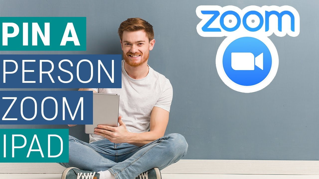 How To Pin Person To Be Seen By All On Zoom For iPad Tutorial