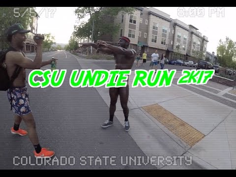 CSU Undie Run 2017