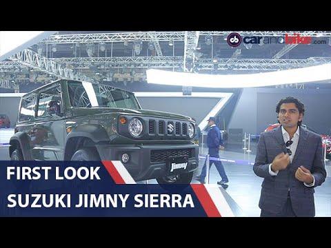 suzuki-jimny-sierra-first-look- -auto-expo-2020- -carandbike