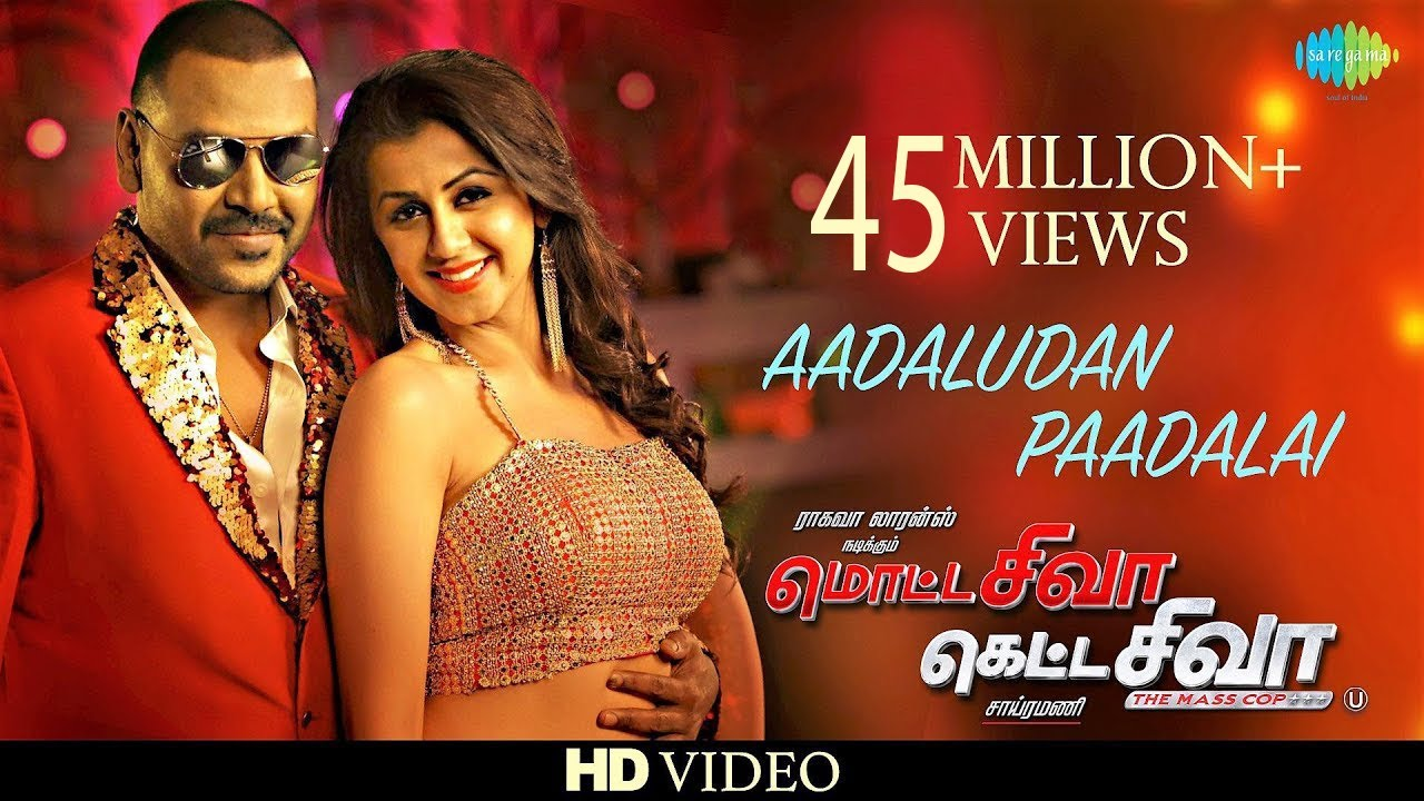 Download Aadaludan Paadalai | Video Song | Motta Shiva Ketta Shiva | Raghava Lawrence | Nikki Galrani |Amrish