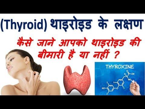 Thyroid Symptoms In Hindi Symptoms Of Thyroid Diseases Youtube