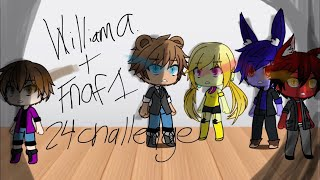 William and FNAF 1 stuck in a room for 24 hours