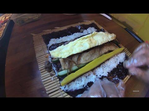 Jakarta Street Food 1069 Part.1 Gimbap Kimbap Beef Korean Food By Baro_Baro Masakan Korea 5947