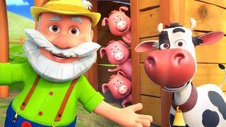 Seu MacDonald Tinha uma Fazenda - Música Infantil | LooLoo Kids Dublado