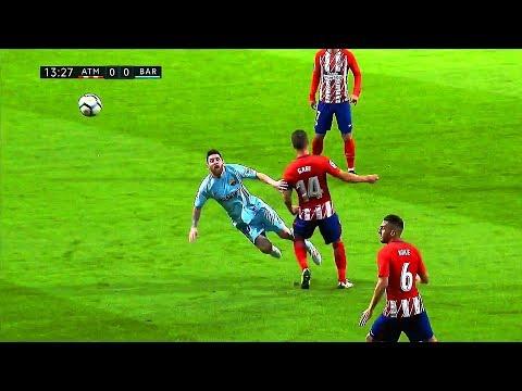 El extraño partido de Messi: d messi