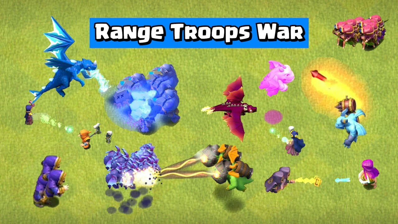 Range Troops Tournament | Clash of Clans