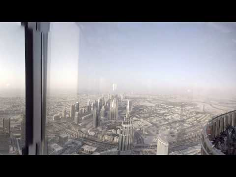 360 video: Burj Khalifa - At The Top, Dubai, United Arab Emirates