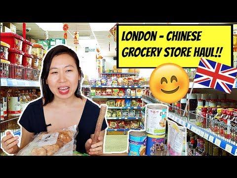 1ST LONDON UK - CHINESE GROCERY STORE HAUL!! (NEW INGREDIENTS!!) | VEGAN