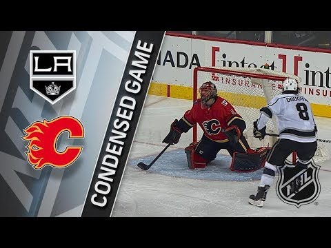 Los Angeles Kings vs Calgary Flames – Jan. 24, 2018 | Game Highlights | NHL 2017/18. Обзор матча