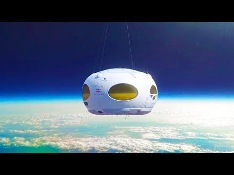 Viaja al Espacio en un Globo