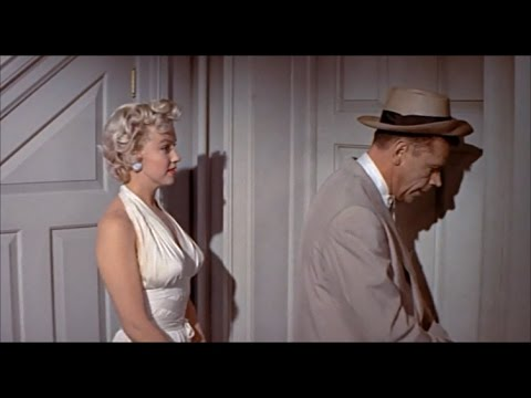 """Marilyn Monroe In """"The 7 Year itch"""" - """"PillowCase In Ice Water"""" """"That's too icky!"""""""
