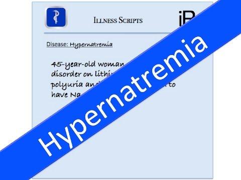 Hypernatremia Review Using Illness Scripts