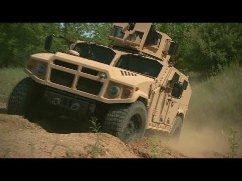 Bigger and badder: The next gen Humvee