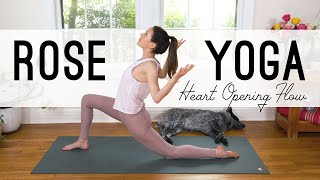 Rose Yoga  ? Heart Opening Flow  ? Yoga With Adriene