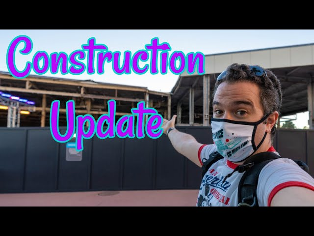 Construction Update | Epcot February 2021