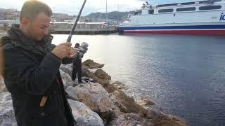 Bursa Güzelyalı  balık avi