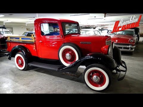1935 International Pickup 350 V8 At Country Classic Cars