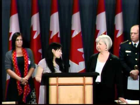 Part 3   National Press Conference Bill C-310 Receives Royal Assent   Ottawa