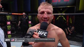 Диллашоу vs Сэндхаген - Слова после боя UFC Вегас 32