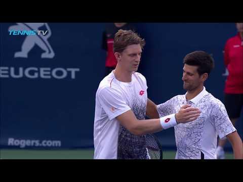 Anderson/Djokovic vs Auger-Aliassime/Shapovalov: Rogers Cup 2018 Best Shots & Rallies