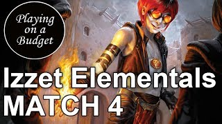 MTG Standard: Izzet Elementals vs B/R Aggro - Playing on a Budget