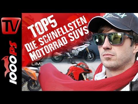 Top 5 - Die schnellsten Crossoverbikes. Komfortabel und schnell!