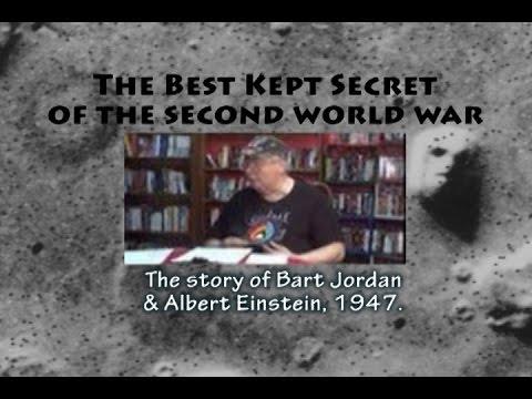 Albert Einstein & Bart Jordan, 1947