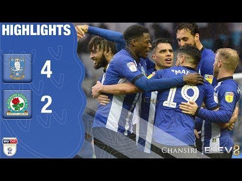 Sheffield Wednesday 4 Blackburn Rovers 2 | Extended highlights | 2018/19