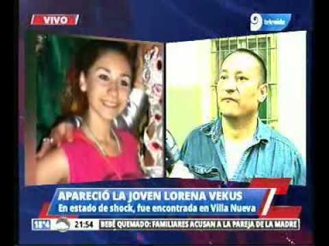 Download Apareció en estado de shock la joven Lorena Vekus.
