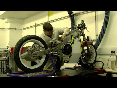 Kingston University Electric Motorcycle Diary no.22 Isle of Man TTXGP