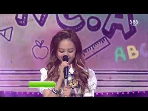 "Live HD | 130901 앤씨아 ""교생쌤 (My Student Teacher)"" @ SBS 인기가요"