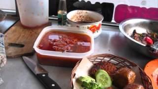Jakarta Restaurant 36 Ojo Lali Restaurant By Mr.bowo Making Roasted Bacem Tofu Tempeh