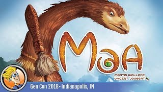 Moa — game overview at Gen Con 2018
