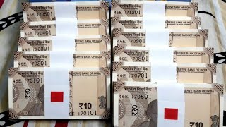10 RUPEES INDIA NEW NOTE LAUNCHED , FEATURES , SIZE COMPARISON SECURITY COINMAN OFFICIAL NEWS
