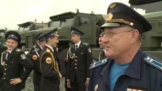 Всеармейские состязания по танковому биатлону на Чебаркульском полигоне