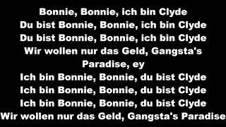 Loredana feat. Mozzik 🔫 BONNIE & CLYDE 🔫lyrics