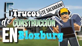 5 TRUCOS de CONSTRUCCIÓN que te SALVARÁN LA VIDA!! | ROBLOX Bloxburg